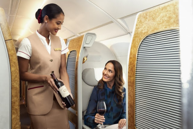 emirates win medals at first class sky 2019 awards business wine cellar