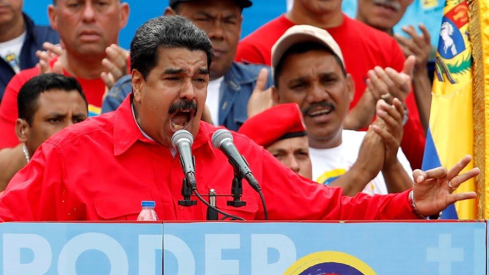 US Places $15M Bounty On Venezuelan Nicolas Maduro Over Drug Related Indictment