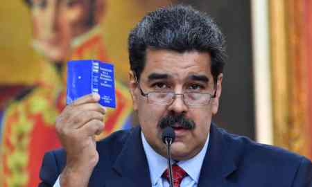 US Indicts Venezuelan Nicolas Maduro On Charges of Drug Trafficking