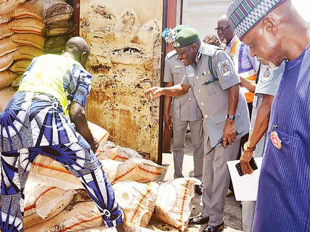 Nigeria to distribute 150 trucks of rice