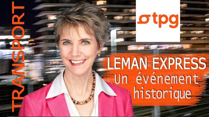 Anne Hornung Soukup TPG Léman Express