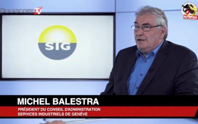 Les innovations dans le secteur énergétique (Michel Balestra, SIG)