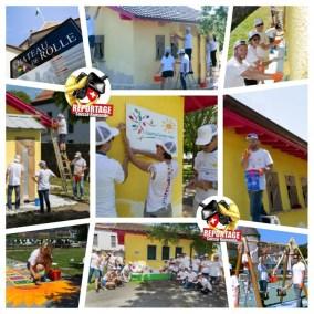 Ville de Rolle - PPG industries - Colorful communities