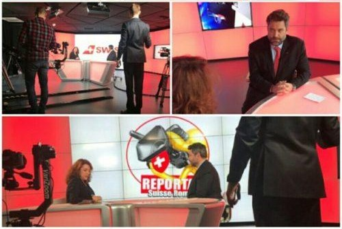 reportage suisse romande plateau tv studio tv