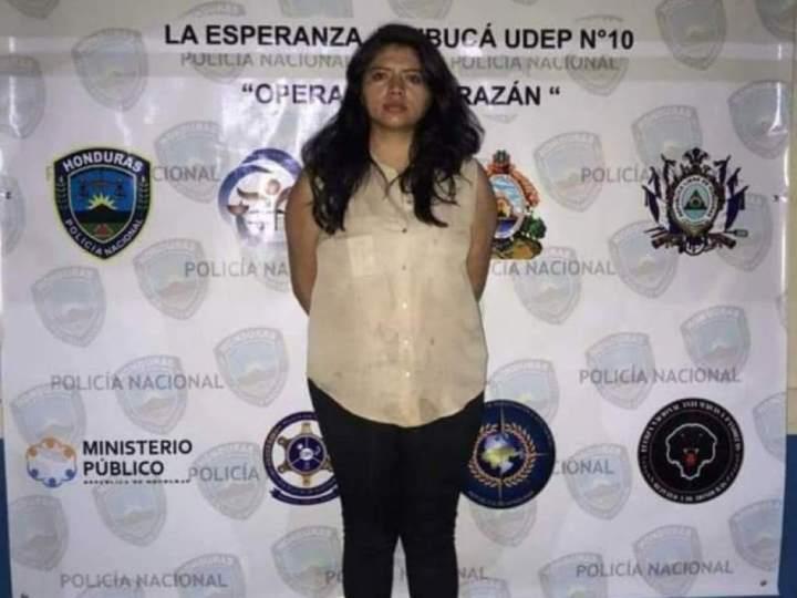 Keyla Martínez murió en una celda en la estación policial de La Esperanza, Intibucá. Foto: Policía Nacional de Honduras