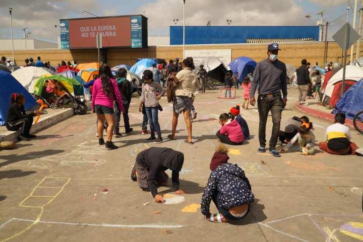 Casa de Luz se ha convertido en uno de los principales refugios para migrantes en especial hondureñas y hondureños en Tijuana. Foto: Casa de Luz