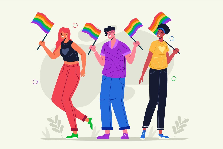 Muchas marcas utilizar los colores LGBTIQ+ para lavar su imagen.