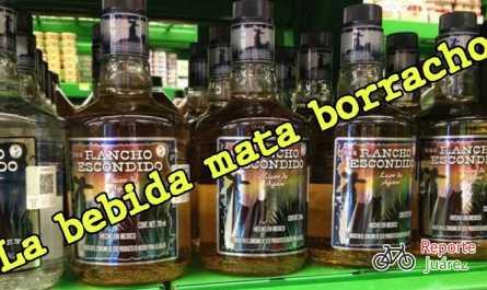 Tomar tequila Rancho escondido puede matarte