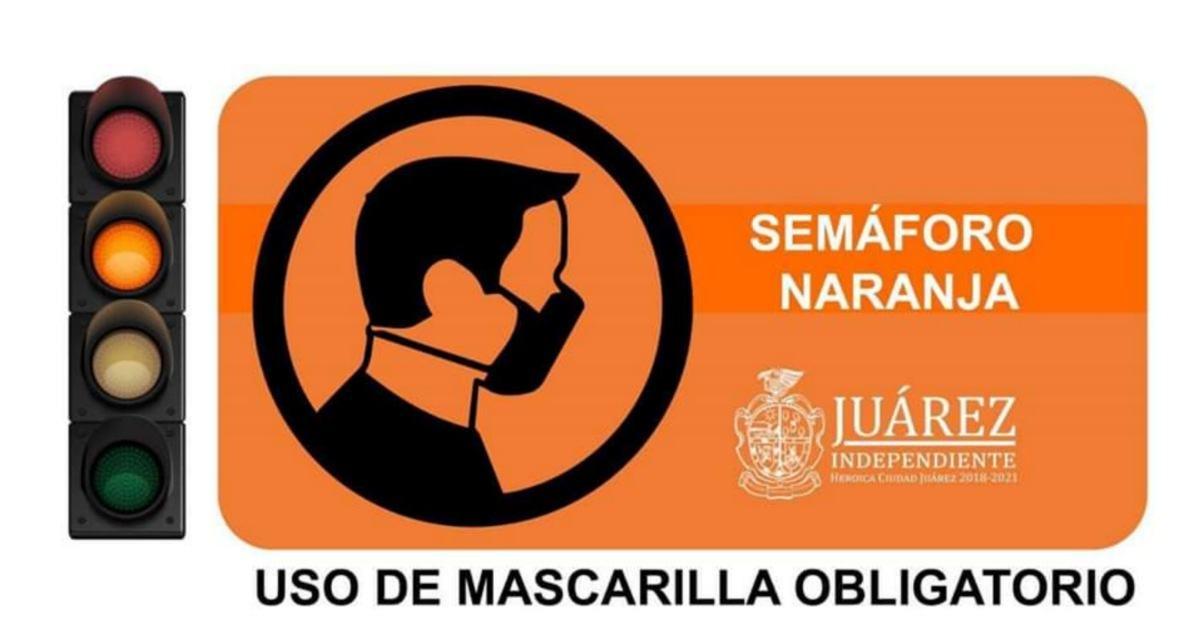 semaforo naranja ciudad juarez