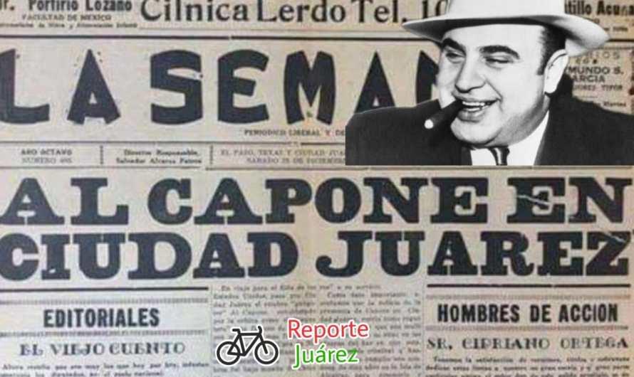 Ciudad Juárez, whisky y Al Capone