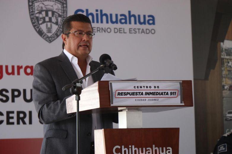 Armando Cabada inaugura el Centro de Respuesta Inmediata 'CERI'