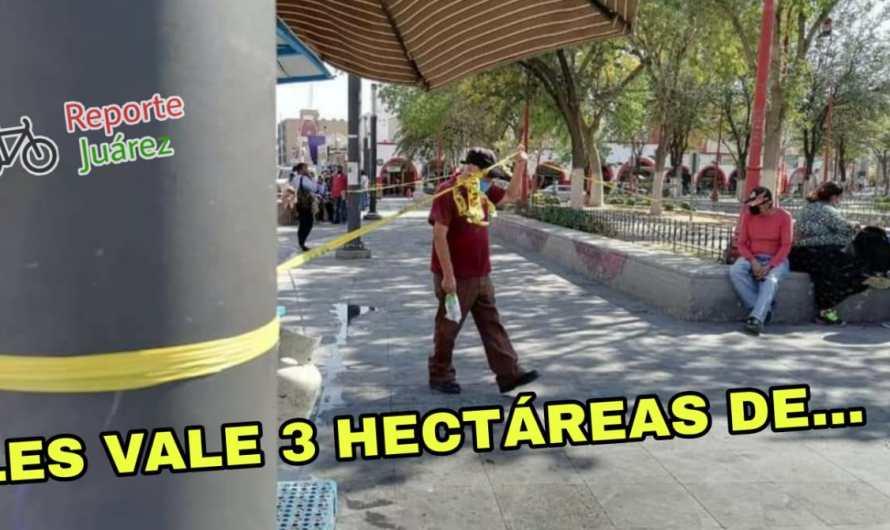 Se clausura la 'Plaza de Armas'