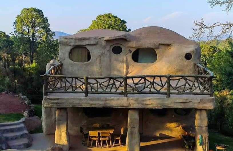 ¿Sabías que la casa de Los Picapiedra está en Mazamitla?