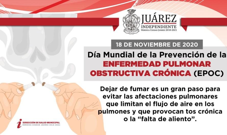 ¡Deja de fumar! Día Mundial de la Prevención de la EPOC