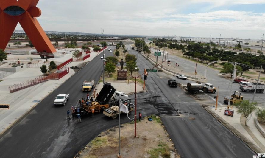 Ciudad Juárez: Seguirán obras de pavimentación el resto del año