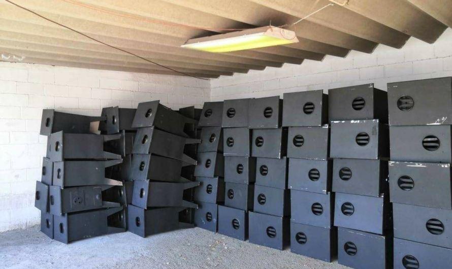 Calentones de leña que regaló Municipio, vendidos en Facebook