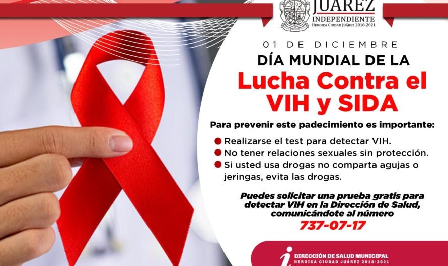 Se suma Municipio a conmemoración del Día Mundial de la Lucha contra el SIDA