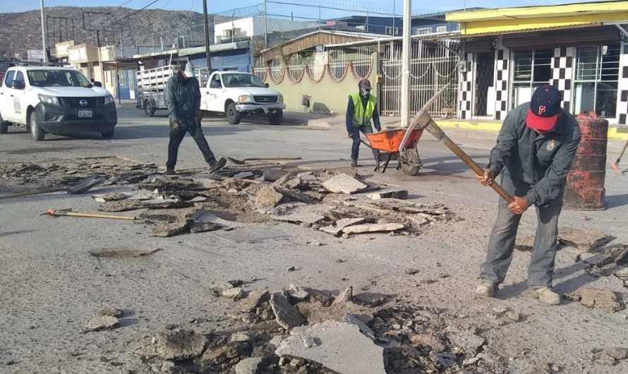 Gobierno Municipal reparó cerca de 460 baches en Noviembre
