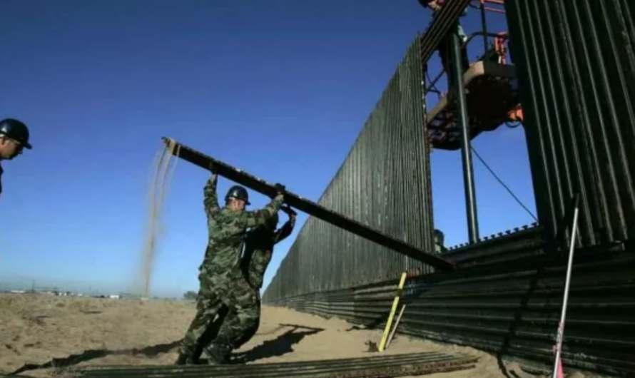 Continúa construcción del muro en la frontera de Arizona con México