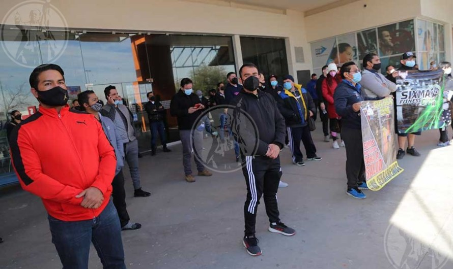 ¡A ejercitarse a su casa! desalojan gimnasios de Juárez