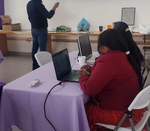 IMM: Capacita a integrantes de Unidad Indígena en usos de herramientas tecnológicas