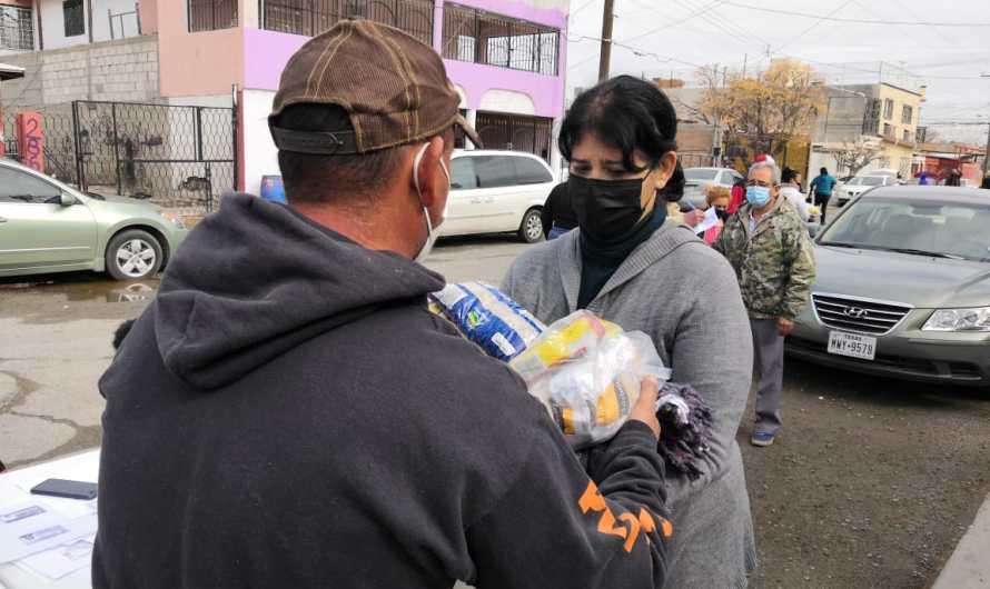 Colonia Melchor Ocampo, 150 familias beneficiadas con apoyos sociales