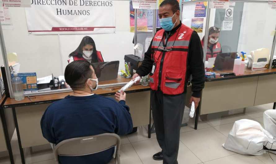 Dirección de Derechos Humanos atendió 186 migrantes en febrero