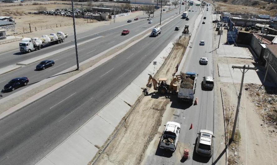 ¡Tome sus precauciones! Inician obras de repavimentación en puente bulevar Independencia