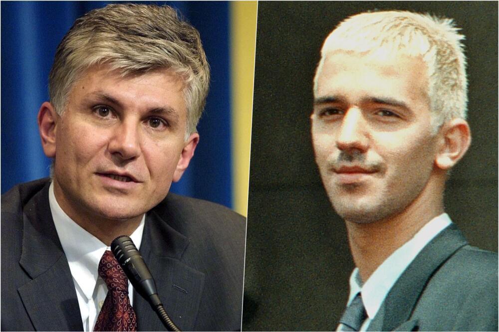 Zoran Đinđić i Marko Milošević