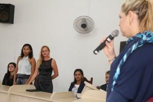 Procuradora fala as duas Conselheiras que atenderam a ocorrência