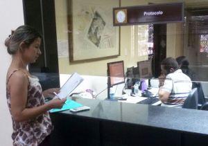 No MP Simone protocolou alguns documentos
