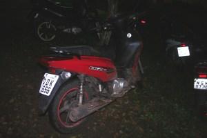 Moto recuperada pela PM