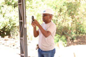 Técnico do órgão faz capitação de imagens para compor documentação