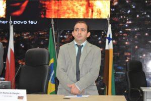 Braz, presidente da Câmara de Parauapebas