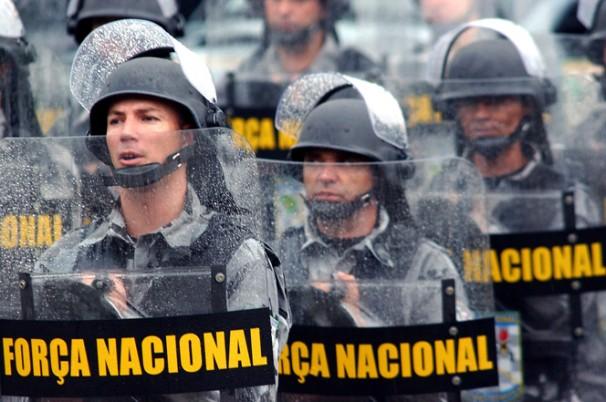 Força Nacional Foto: Fabio Pozzebom/ABr