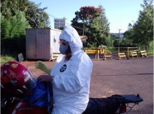 Ex-moradora na área da fábrica da Shell/Basf