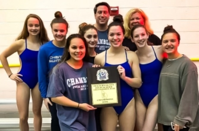 Defending Class 5A/4A State Champs Chamblee Lady Bulldogs set to defend their DCSD County title at the 50th DCSD County Swim Championships this weekend.