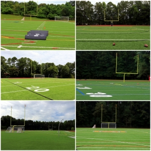 New fields getting used as we head into the fall athletic seasons. (Photos by Mark Brock)