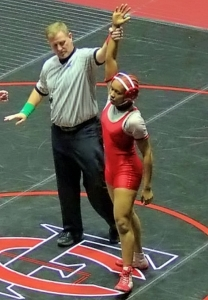 Stone Mountain's Daisy Gilleylen is victorious on the mat and in life. (Courtesy Photo)