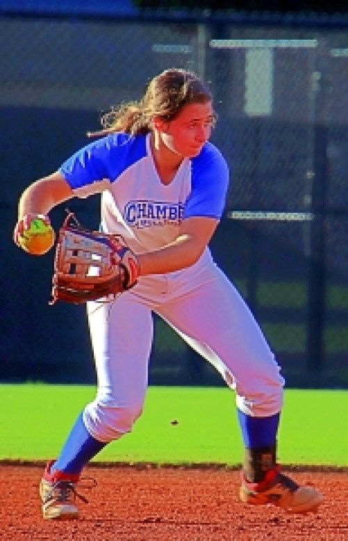 Chamblee's Savannah Russell and her teammates are heading to the Sweet 16 of the Class 5A state playoffs following a sweep of Cass. (Photo by Mark Brock)