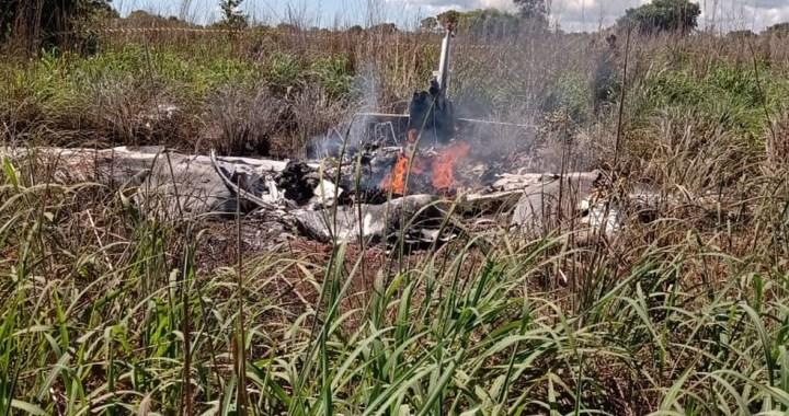 acidente avião