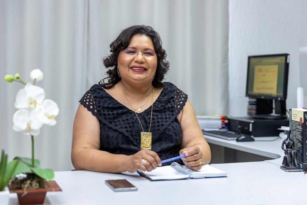 Delegada Maysa Félix