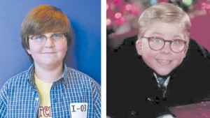 """Cooper Driskell, left, of Cobb County will play Ralphie in """"A Christmas Story."""""""