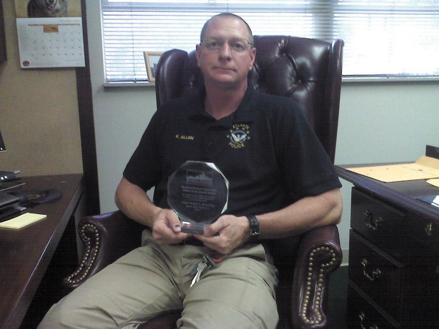 Zone 2 investigator Ken Allen