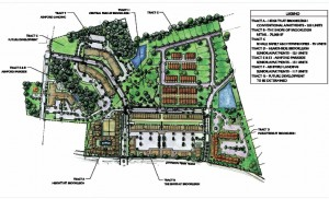 Brookleigh, on the former site of the Johnson Ferry East housing project, will include senior apartments, townhomes, a park and retail space.