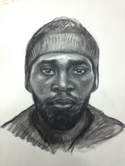 Sketch of a man suspected in a string of Buckhead robberies