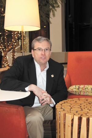 Brad Sturgeon, general manager of the Embassy Suites Atlanta-Perimeter Center, believes the Perimeter market will continue to improve. He also manages a Buckhead hotel and says the markets 'have become increasingly blended.'
