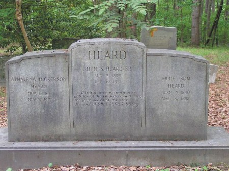 The city of Sandy Springs, Judge John Heard's descendants, and a local attorney hope to appear before a Fulton County judge to determine the fate of an historic cemetery. The attorney wants to build a home on part of the land.