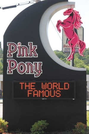 The Pink Pony strip club is located in Brookhaven.