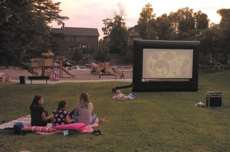Ashford Park Movie Night - 0478